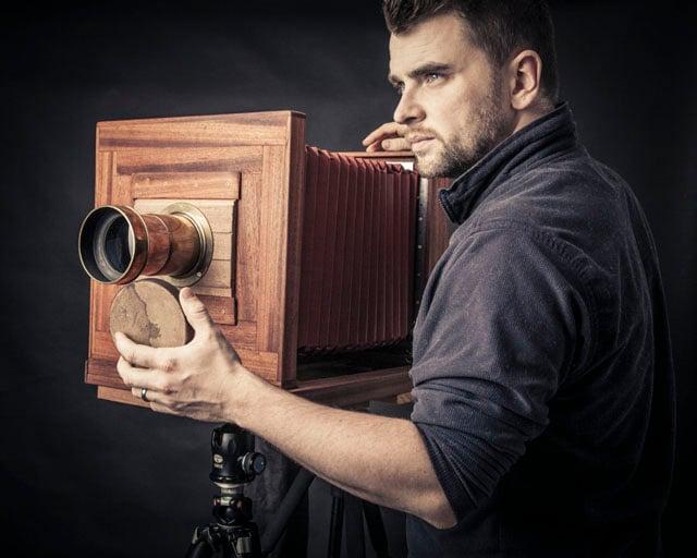 "11 x 11"" DIY camera"