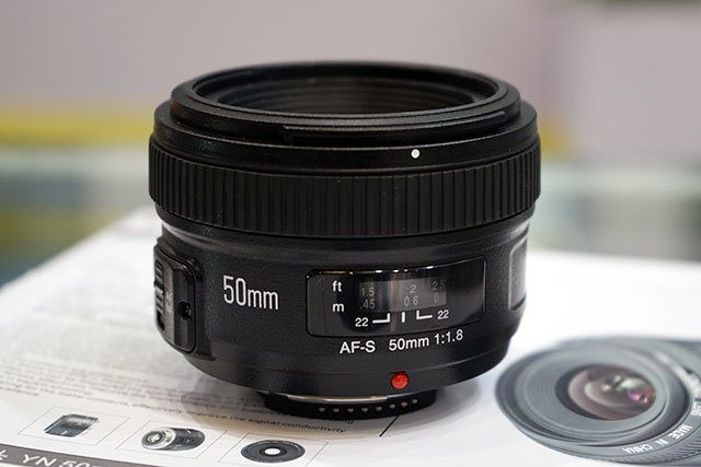 This is the Upcoming Yongnuo 50mm f/1.8 for Nikon