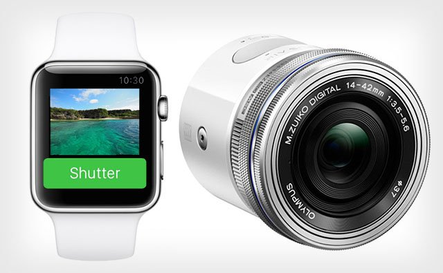 The Apple Watch Can Be Used as a Live View Remote for the Olympus Air