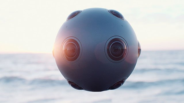 The Nokia OZO is a Spherical Camera for Capturing VR Imagery