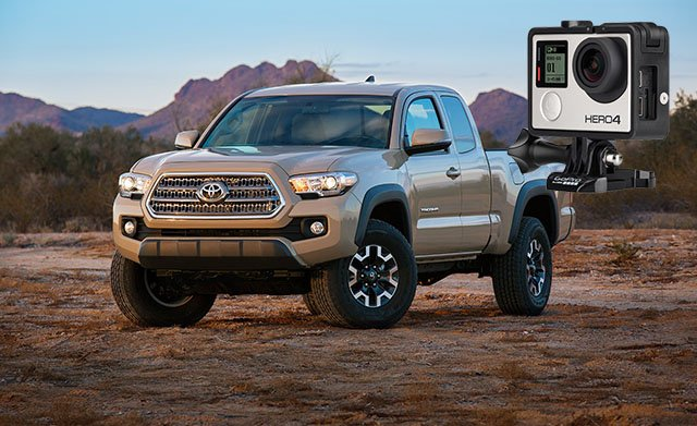 2016 Toyota Tacoma to Come with a Built-In Camera Mount ...