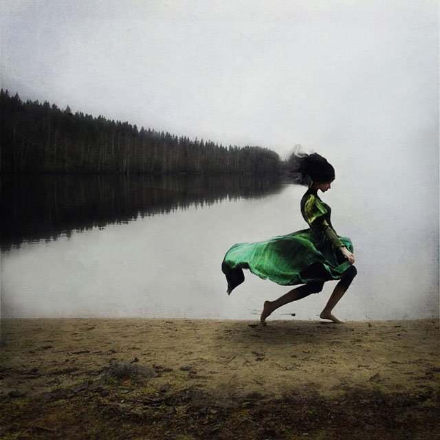 The Dreamlike Self-Portraits of Kylli Sparre
