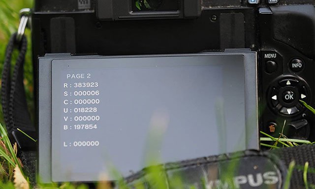 Use This Secret Code to View Hidden Info on Olympus Cameras
