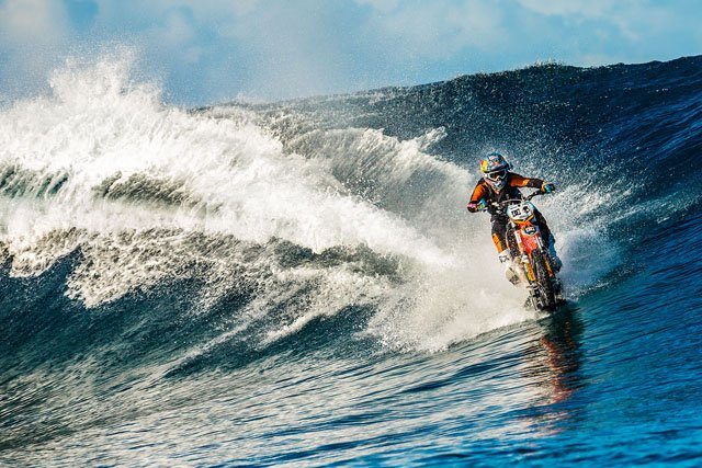 This Insane Motorcycle Surfing Shoot was 2.5 Years in the Making
