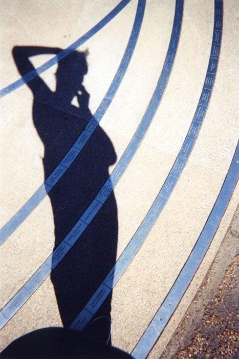 Shadow of Self, Hyde Park, by Goska Calik.