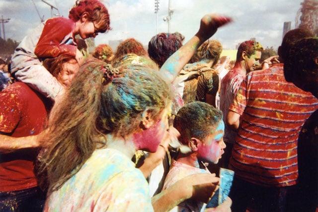 Colour Festival, Olympic Park, by Goska Calik.
