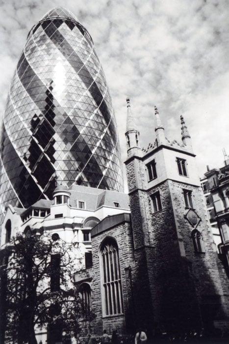 Past & Present, City of London, by Ioanna Zagkana
