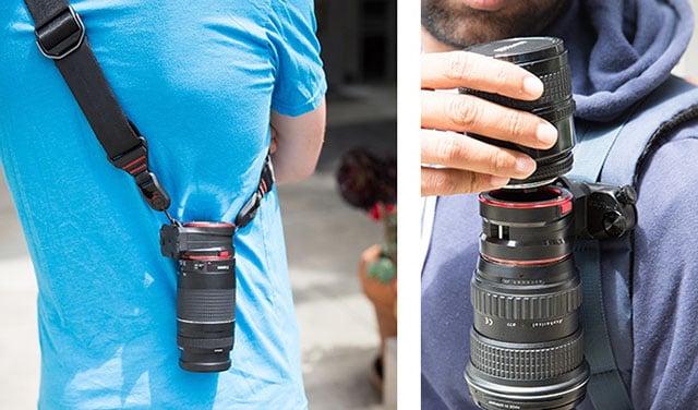 Capturelens Peak Design S New Fast Lens Switching System