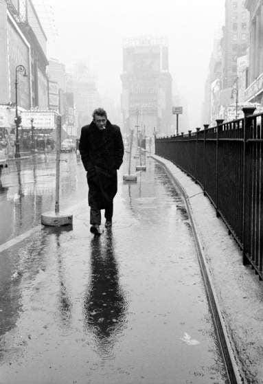 James Dean, New York City, 1955. Photo by Dennis Stock/Magnum Photos