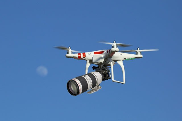 Are Drones Better Than Telephoto Lenses for Spying? The Answer May Creep You Out