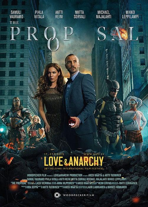 shooting a superherothemed movie poster with lauri laukkanen