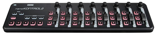 This Korg nanoKONTROL2 MIDI controller is $60 on Amazon. Others are even cheaper.