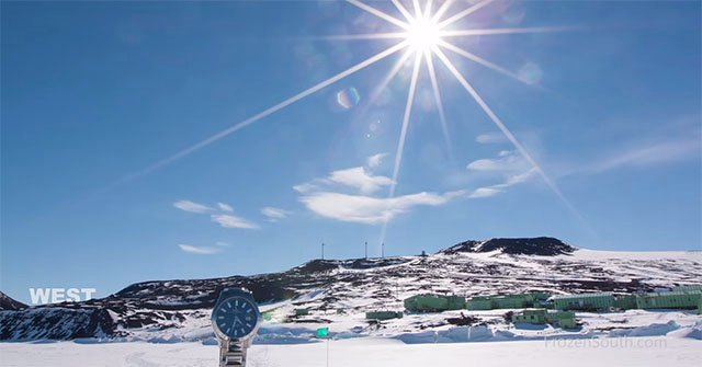 A Time-Lapse of 24 Hours of Sunlight in Antarctica