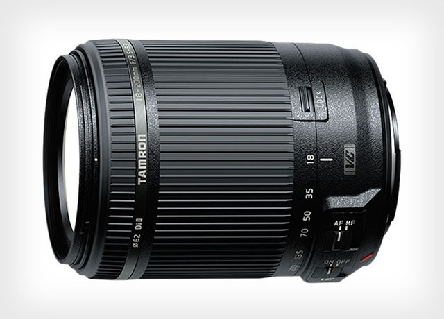 Tamron's 18-200mm VC Lens is the World's Lightest