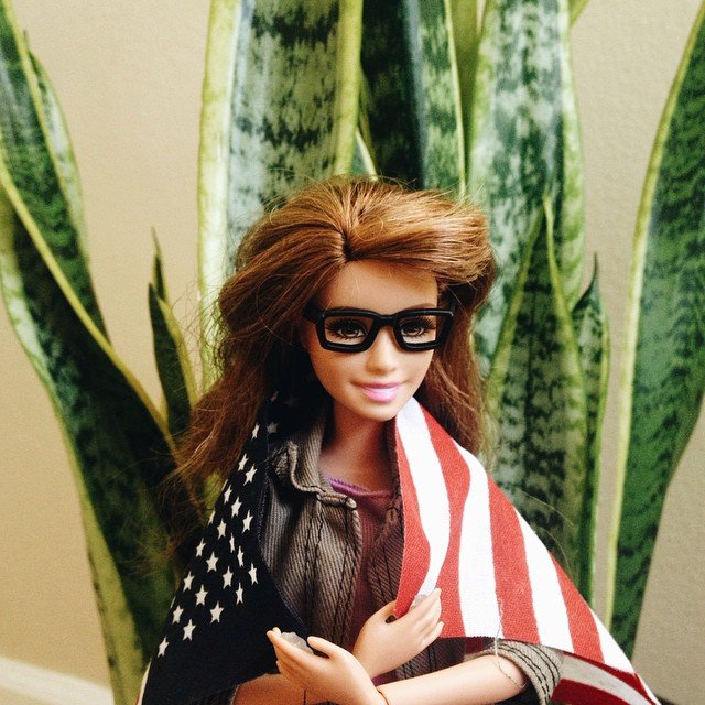 Hipster Barbie Pokes Fun at Artsy Instagram Photos