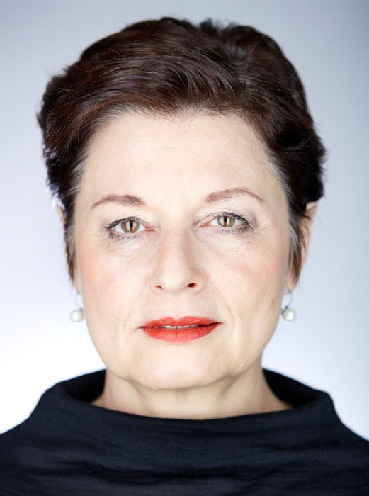 Anita Fetz, Politician in the style of Martin Schoeller