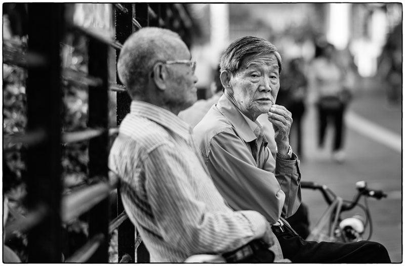 People watching – Hong Kong