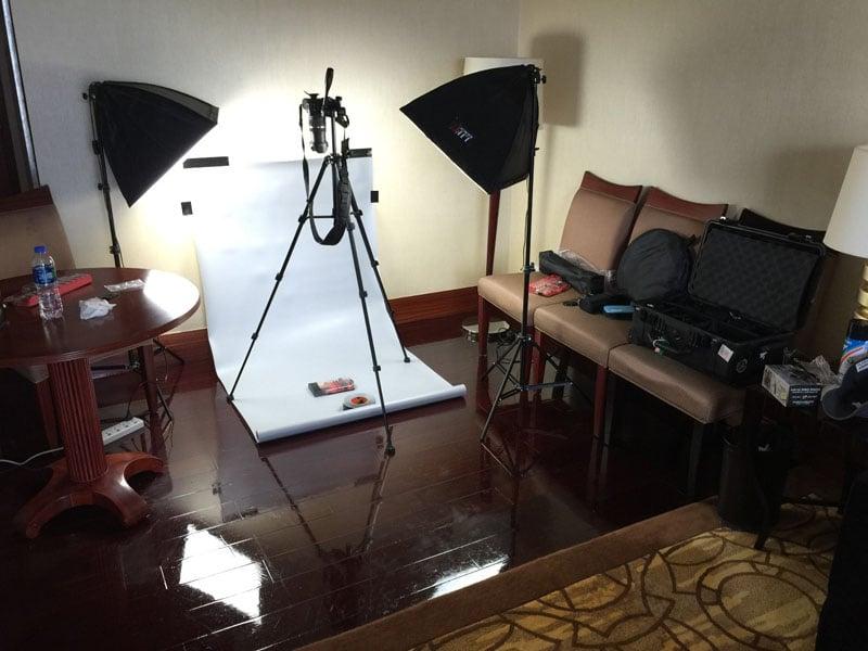 Hotel room studio – Qingxi, China