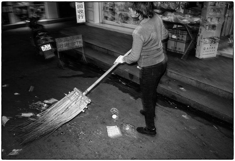 Street sweeper – Qingxi, China