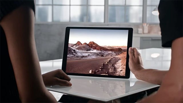 Apple Unveils a Giant iPad Pro and Apple Pencil Stylus