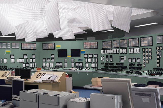 Thomas Demand. Kontrollraum / Control Room. 2011. C-Print / Perspex.