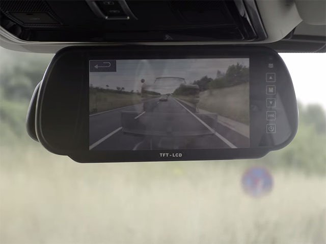 Land Rover Uses Cameras to Make Trailers Disappear in a Rear View 'Mirror'