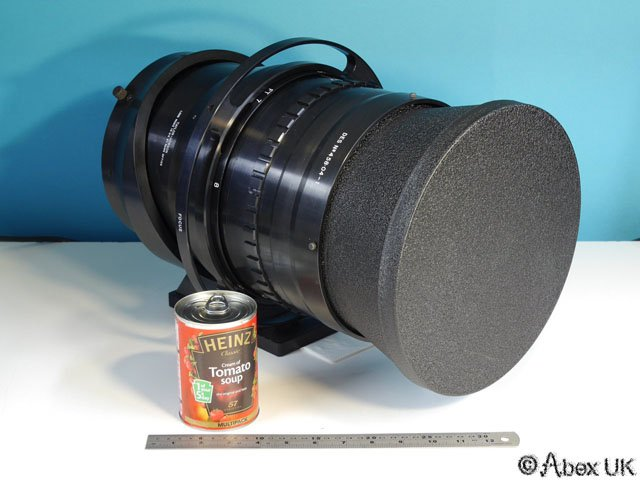 This is What a 200mm f/1.0 Lens Looks Like