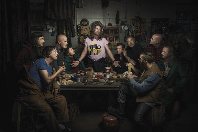 These Portraits of Auto Mechanics Are a Homage to Renaissance Paintings