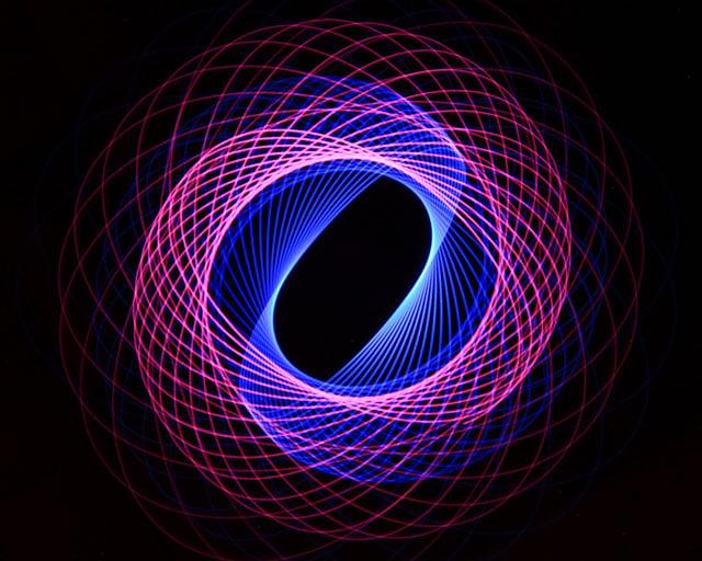 Light Painting Spirograph 04