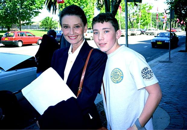 Audrey Hepburn, 1991