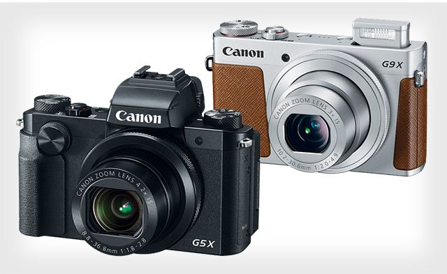 Canon PowerShot G5 X and G9 X: Premium Compacts with 1-Inch Sensors