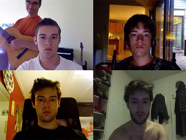 From 12 to 20: Time-Lapse of Daily Selfies Shows Boy Turn Into a Man