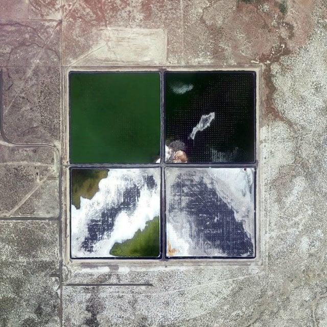 Picture Perfect Square Miles, Found in Google Earth