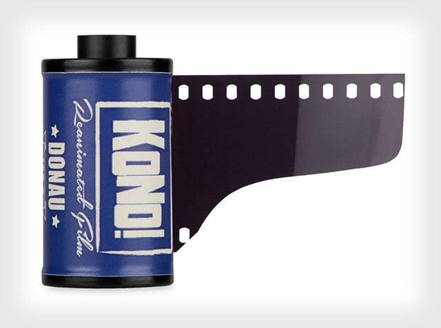 Kono Donau: A New Ultra-Slow 35mm Film with ISO 6