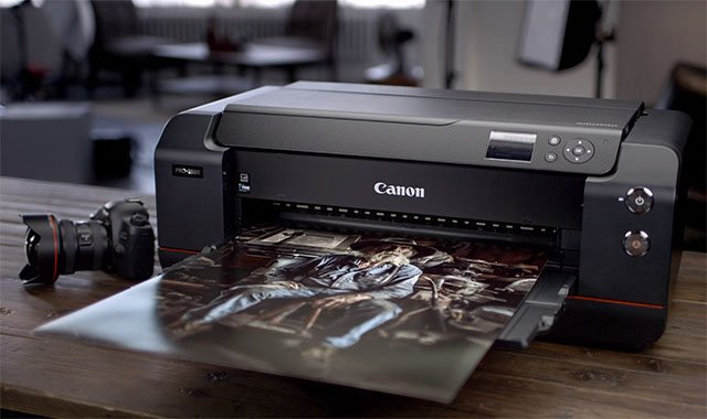 Canon's L Lens Red Ring Spreads to Printers with the imagePROGRAF PRO-1000