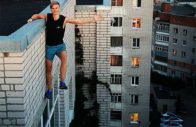 Russian Teen Falls to Death While Shooting Daredevil Rooftopping Portraits