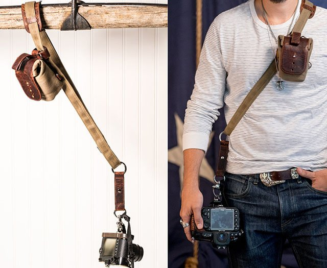 Sightseer Sling Strap Is A Leather Camera Strap That