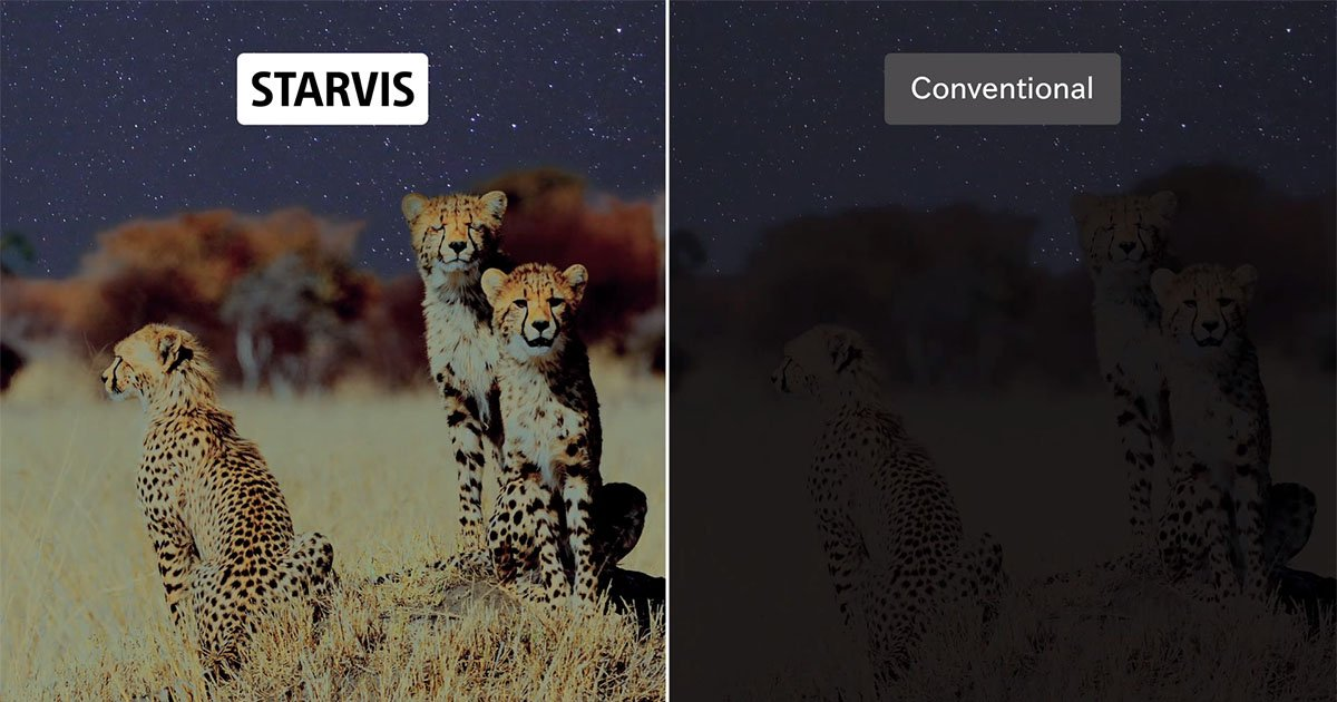 Sony Shows Off a New Ultra-Sensitive CMOS Sensor Called 'STARVIS'