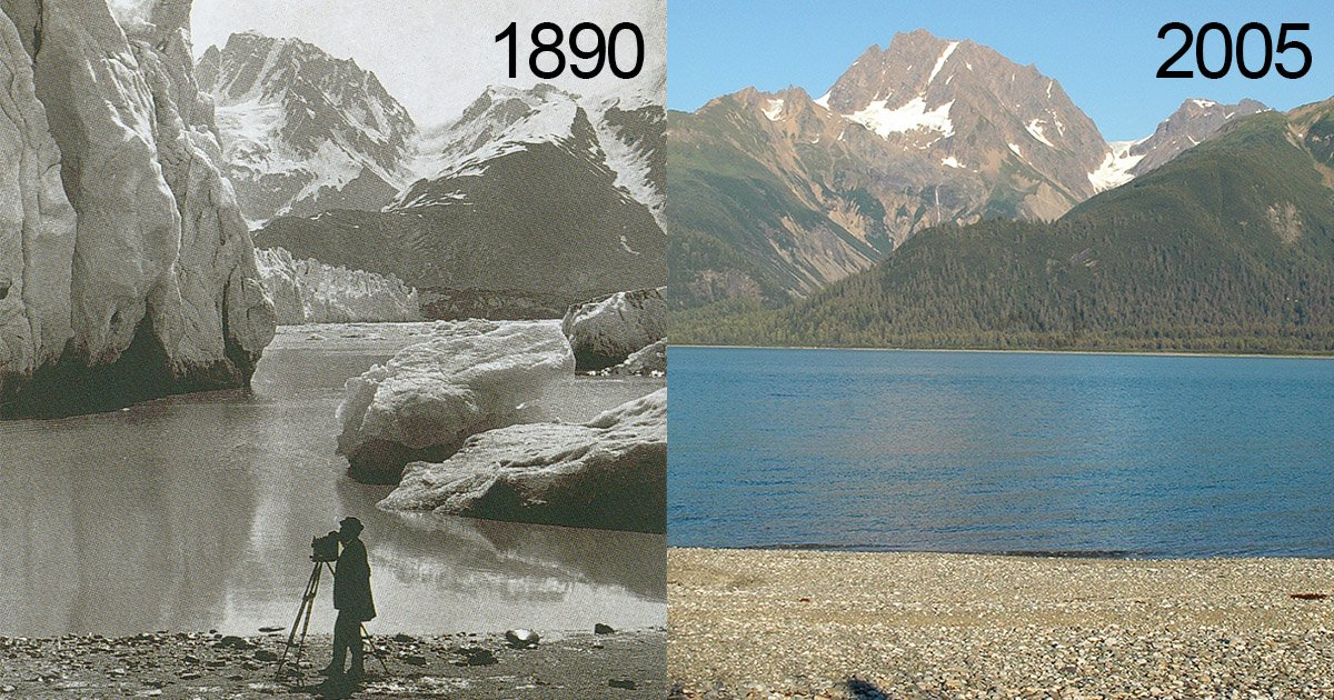 These Before and After Photos Show How Glaciers in the US ...