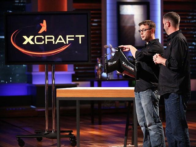 XCraft Raises $1.5M from Shark Tank for Its Next Gen Camera Drones
