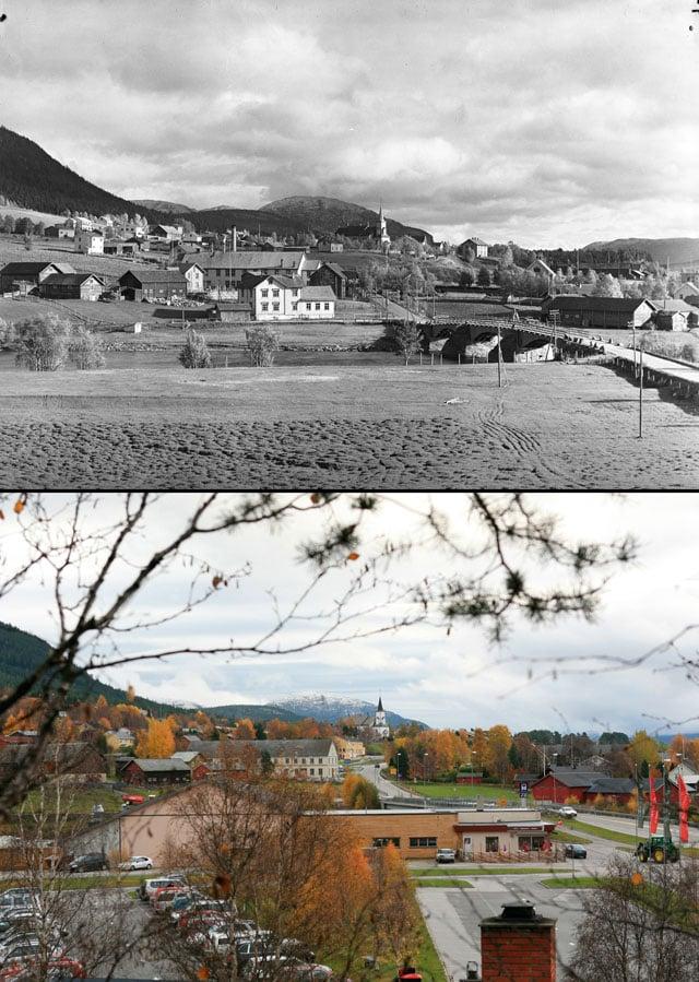 © Anders Beer Wilse / Norsk Folkemuseum / Oskar Puschmann / Skog og landskap