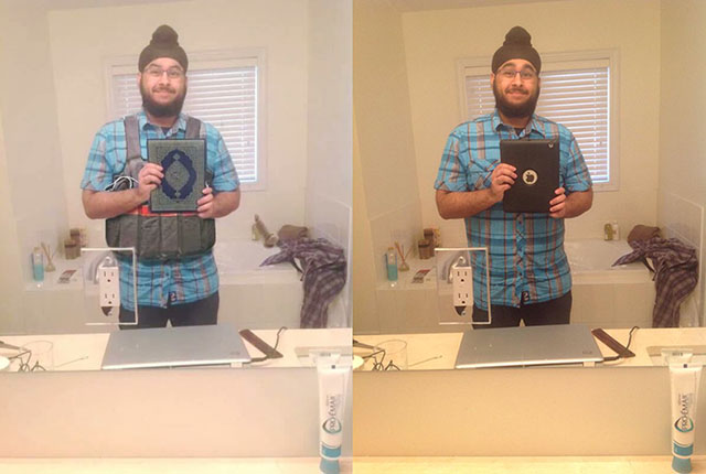 Someone Photoshopped this Sikh Guy, and Now the World Thinks He's a Paris Terrorist