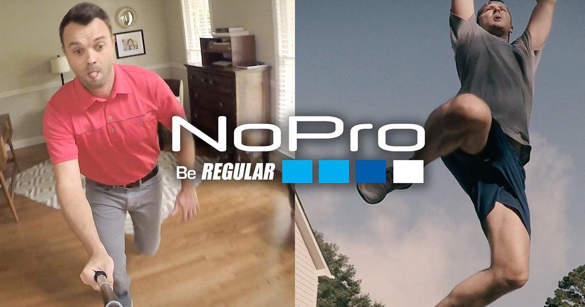 Nopro A Gopro Ad Parody Of Regular People Stunts