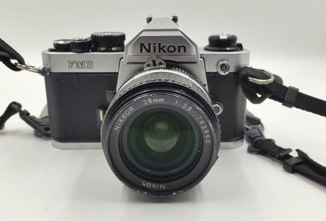 Mary Ellen Mark's Nikon FM2 is For Sale on eBay