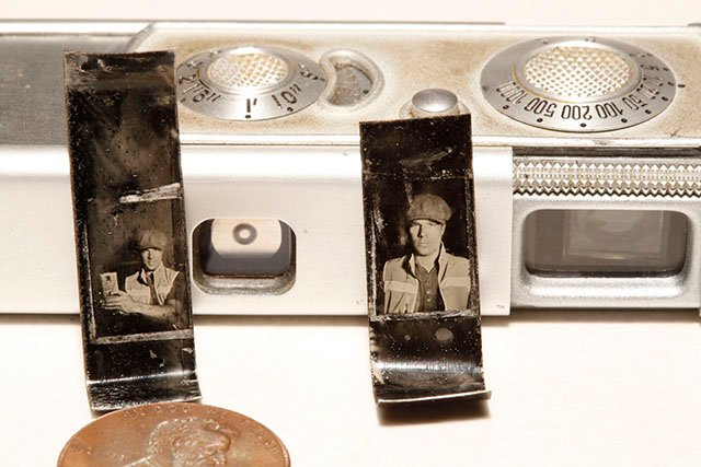Shooting the World's Smallest Tintypes with a Minox Subminiature Camera