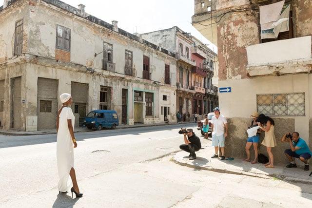 Shooting a Fashion Editorial on the Streets of Havana, Cuba