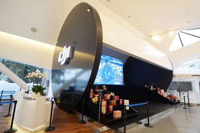 Dji ra mắt showroom dành riêng cho các sản phẩm flagship - 105376