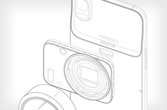 Samsung regista patente para um smartphone com objectivas intermutáveis