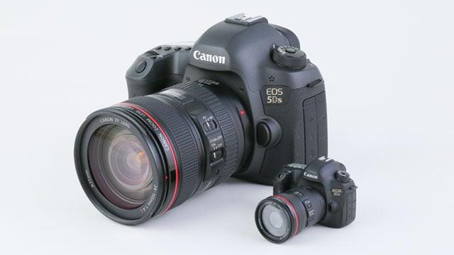 Canon giới thiệu mô hình 5Ds cùng 2 mẫu USB hình ống kính cho fan - 104685