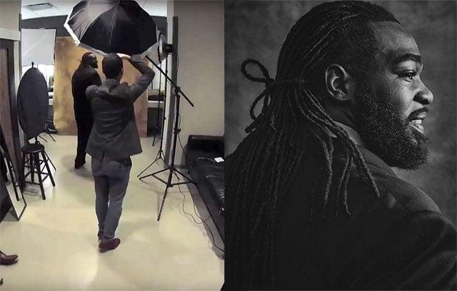 How I Shot Portraits at the Canadian Football League Awards Ceremony